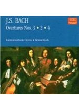 Bach: Overtures Nos 2 - 4