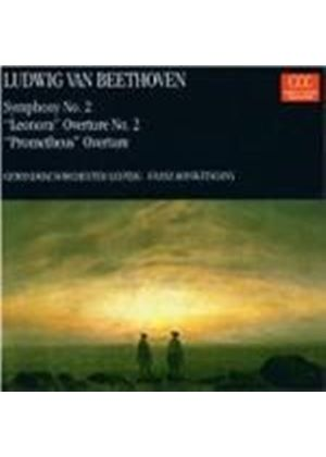 Beethoven: Symphony No. 2. Overtures