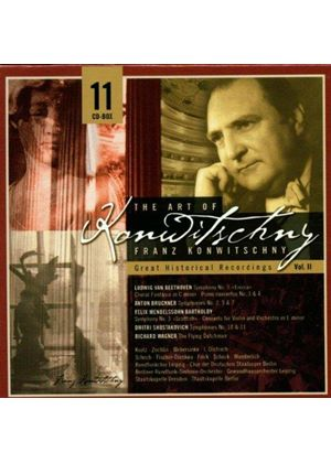 Beethoven/Bruckner - The Art Of Franz Konwitschny Vol. 2 [11CD]