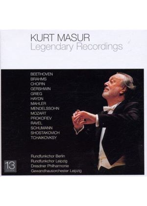 Kurt Masur - Legendary Recordings