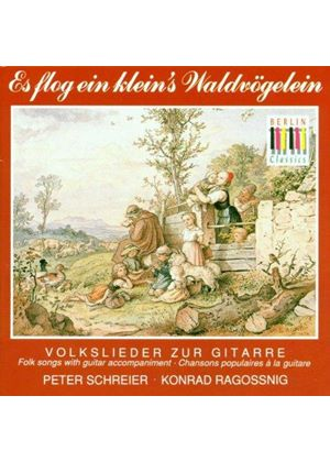VARIOUS COMPOSERS - Folk Songs With Guitar (Schreier)