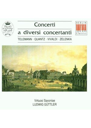 VARIOUS COMPOSERS - Concerti A Diversi Concertanti