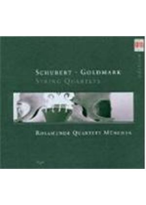 Schubert; Goldmark: String Quartets