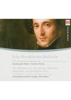 Mendelssohn: (A) Midsummer Night\'s Dream; (2) Overtures
