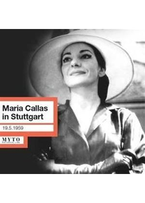 Maria Callas in Stuttgart (Music CD)
