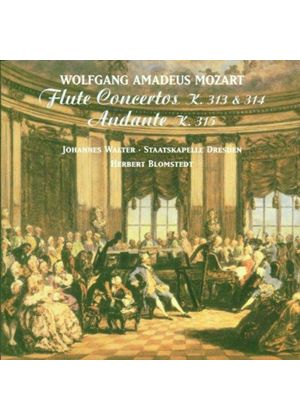 Wolfgang Amadeus Mozart - Flute Concertos 1 And 2 (Blomstedt, Staatskapelle Dresden)