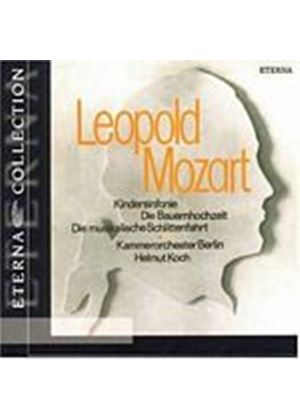 Leopold And Wolfgang Amadeus Mozart - Toy Symphony/Peasant Wedding/Musical Sleigh-Ride (Music CD)