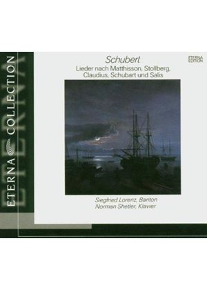 Schubert: Lieder to texts by various poets