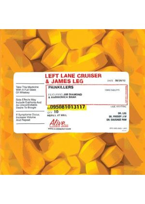 James Leg - Painkillers (Music CD)