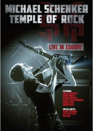 Michael Schenker - Temple of Rock (Live in Europe [Video]/+DVD)