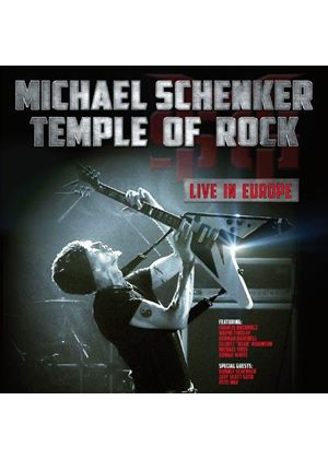 Michael Schenker - Temple of Rock (Live in Europe) (Music CD)