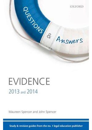 Q & A Revision Guide Evidence 2013 And 2014
