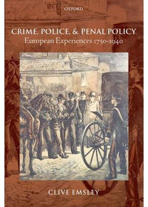 Crime, Police, And Penal Policy