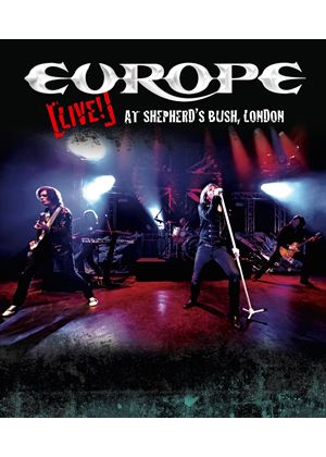 Europe -Live! At Shepherd's Bush, London (Blu Ray)