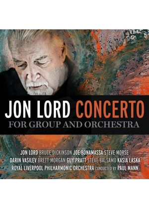 Concerto for Group and Orchestra (Music CD)
