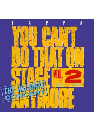 Frank Zappa - You Can't Do That on Stage Anymore, Vol. 2 (Live Recording) (Music CD)