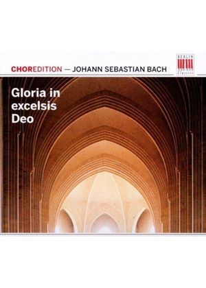 Bach: Gloria in excelsis Deo (Music CD)