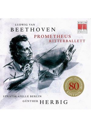 Beethoven: Prometheus; Ritterballet (Music CD)