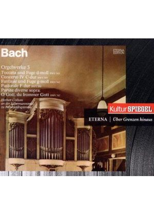 Bach: Orgelwerke, Vol. 3 (Music CD)