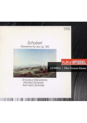 Schubert: Klaviertrio Es-Dur, Op. 100 (Music CD)