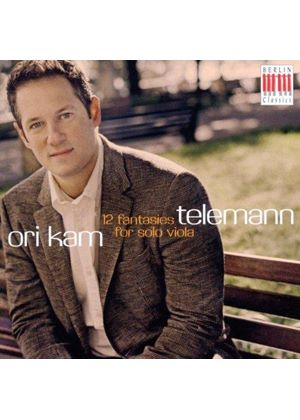 Telemann: 12 fantasies for solo viola (Music CD)
