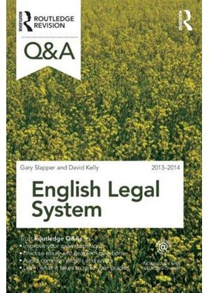Q&a English Legal System 2013-2014