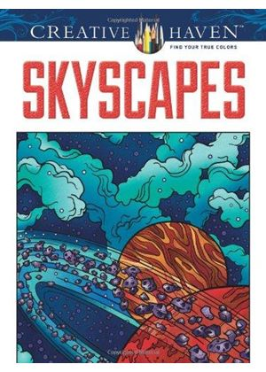 Skyscapes Coloring Book