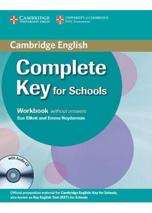 Complete Key For Schools Workbook Without Answers With Audio Cd