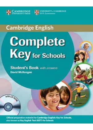 Complete Key For Schools Students Book With Answers With Cd-Rom