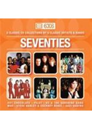 Various Artists - 6 X 6 - The Seventies (Music CD)