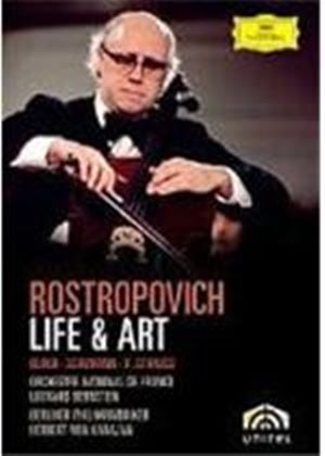 Rostropovich - Life And Art