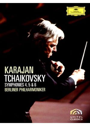 Tchaikovsky - Symphonies Four, Five And Six - Herbert Karajan/Berliner Philharmoniker