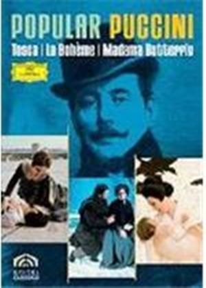 Popular Puccini - Tosca/La Boheme/Madama Butterfly (Box Set)(3 Disc)