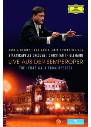 Live aus der Semperoper: The Lehár Gala from Dresden [DVD] (Music CD)