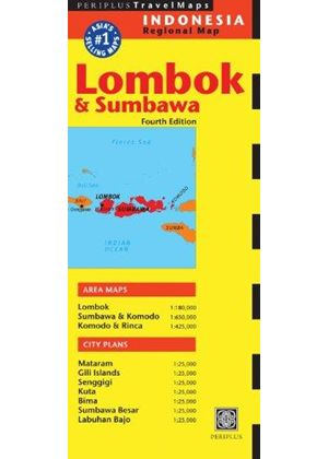Lombok And Sumbawa Travel Map