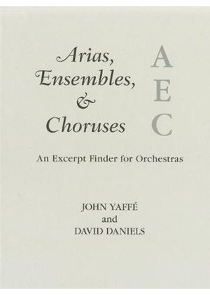 Arias, Ensembles, And Choruses