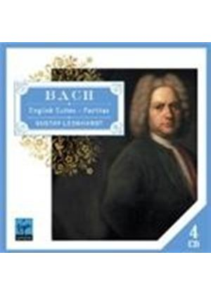 Bach: English Suites; Partitas (Music CD)