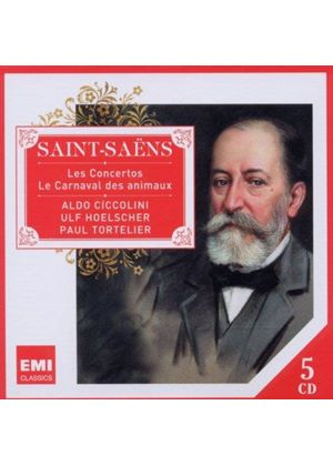 Saint-Saëns: Carnival of The Animals/Concertos (Music CD)