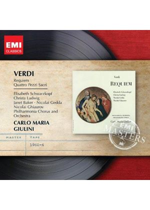 Verdi: Requiem; Four Sacred Songs (Music CD)