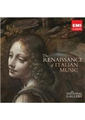 Renaissance of Italian Music (The National Gallery Collection) (Music CD)