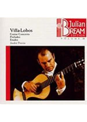 Heitor Villa-Lobos - Bream Collection Vol. 21 - Guitar Concerto/Preludes (Music CD)