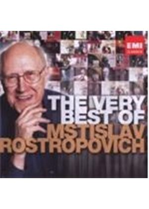Very Best of Mstislav Rostropovich (Music CD)