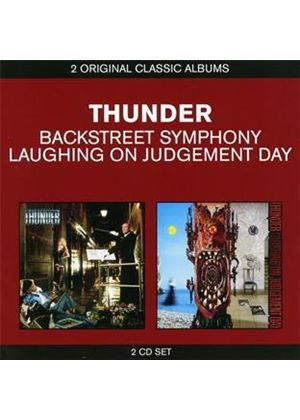 Thunder - Classic Albums: Backstreet Symphony / Laughing on Judgement Day (Music CD)