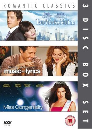 Two Weeks Notice / Music And Lyrics / Miss Congeniality