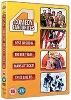 Four Comedy Favourites (Spies Like Us, Big Tease, Mars Attacks, Best In Show)