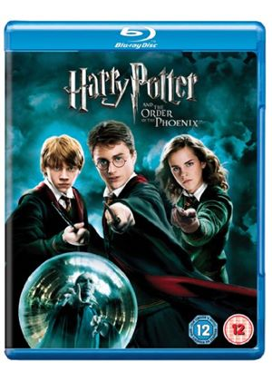 Harry Potter And The Order Of The Phoenix (Year Five) (Blu-Ray)