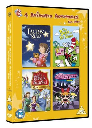 Animated Adventures for Kids - Lauras Star / The Magic Sword / Dr Seuss / Powerpuff Girls: The Movie