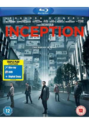 Inception - Triple Play  (Blu-Ray - DVD - Digital Copy)