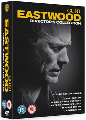 Clint Eastwood: The Director's Collection Gran Torino/Mystic River/Flags Of Our Fathers/Letters From Iwo Jima/Unforgiven.