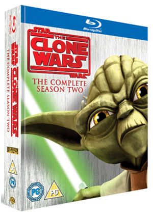 Star Wars: The Clone Wars - The Complete Season Two (Blu-Ray)